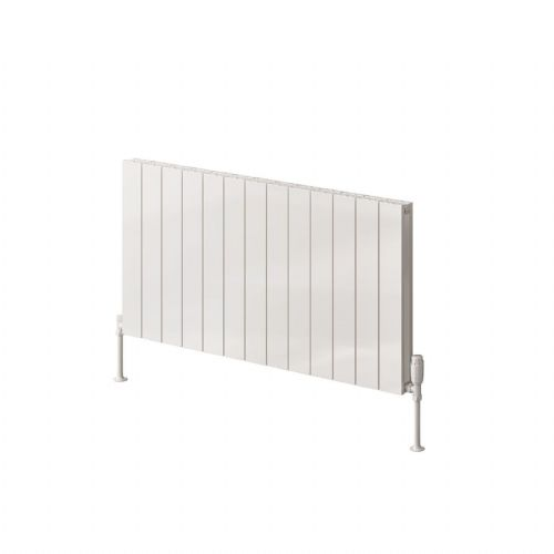 Reina Casina Single Horizontal Designer Radiator - 600mm High x 470mm Wide - Anthracite